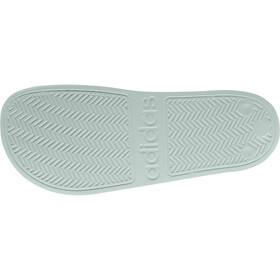 adidas Adilette Shower Claquettes Femme, green tint/footwear white/green tint